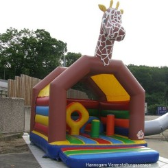 Hüpfburg 4,0 x 5,2 Multiplay Giraffe