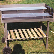 Holzkohle Grill 1